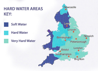 water areas key